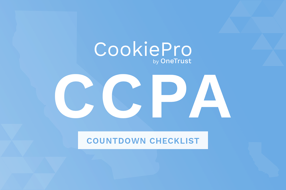 CCPA Compliance Checklist: Three-week countdown