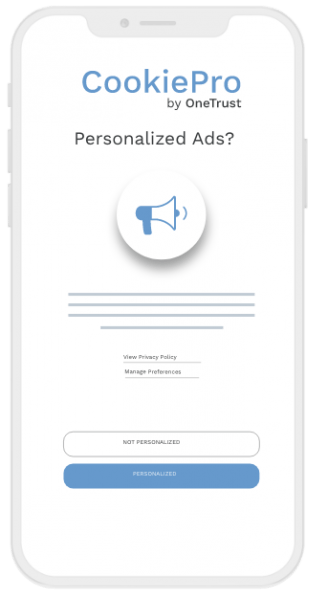 Mobile App Consent Personalized Ads
