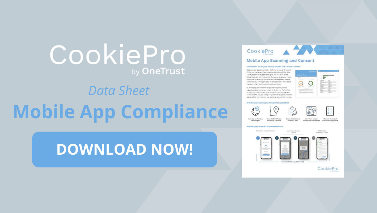 Mobile app compliance