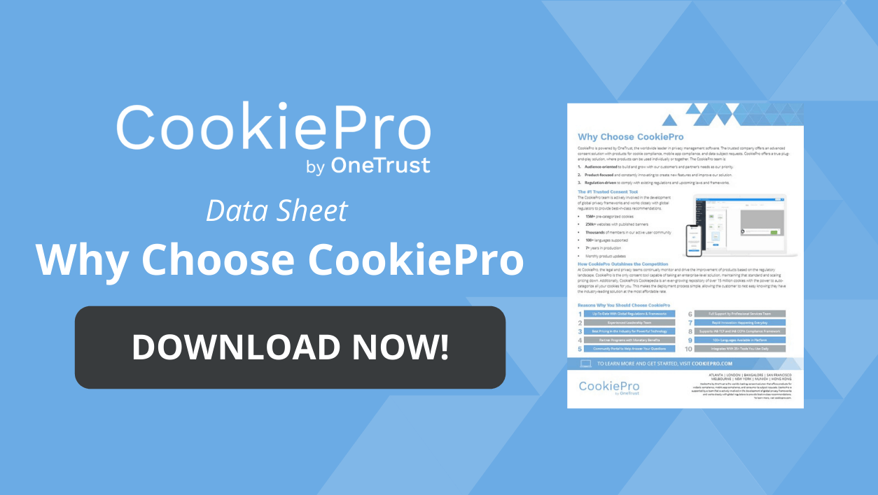 Why Choose CookiePro