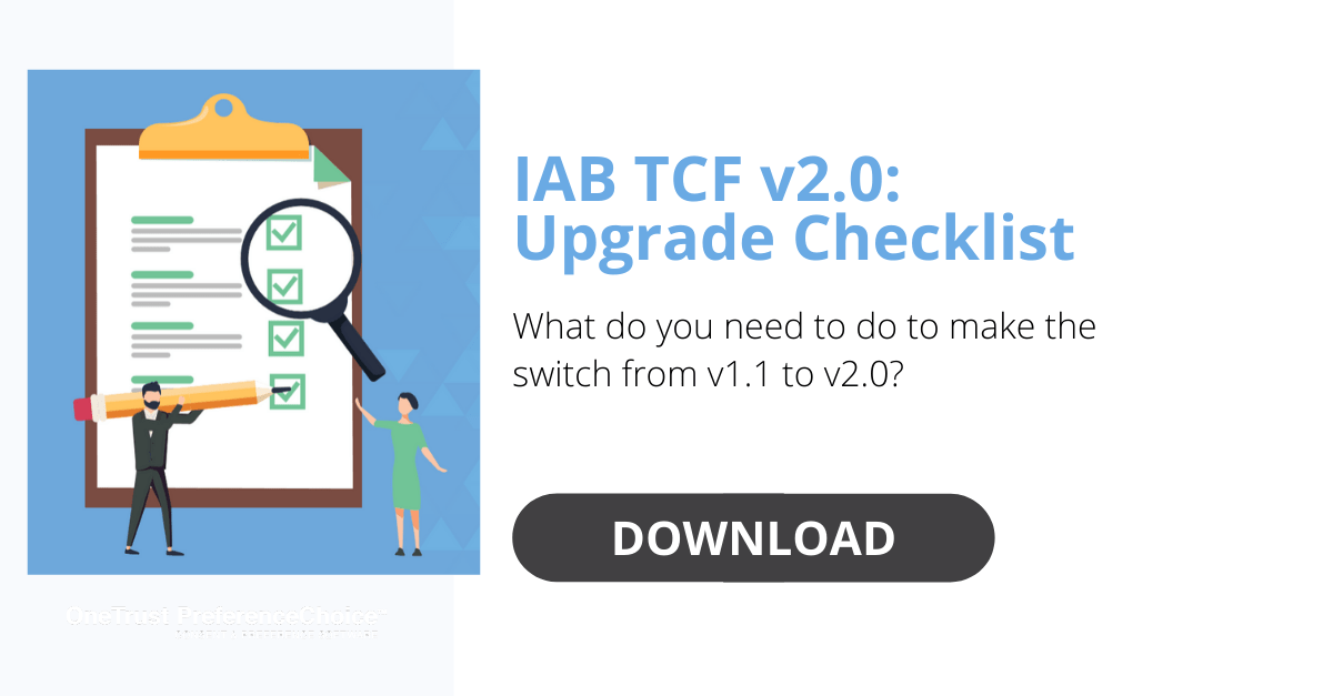 IAB TCF 2.0 Upgrade Checklist