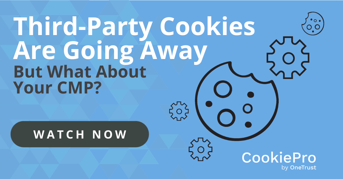 third party cookies cmp
