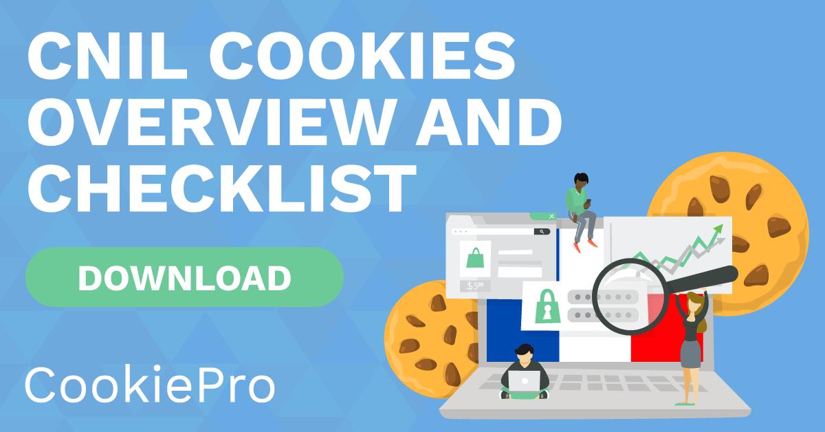 cnil cookies checklist